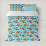 Mosaic Fish Duvet Covers