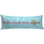 Mosaic Fish Body Pillow Case