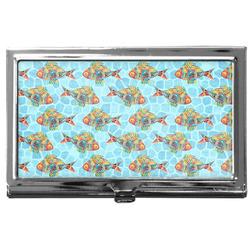 Mosaic Fish Business Card Case