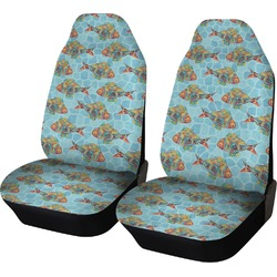 Mosaic Fish Car Seat Covers (Set of Two)