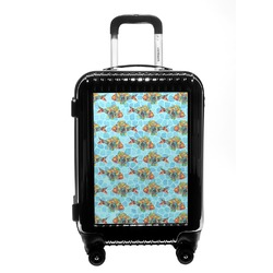 Mosaic Fish Carry On Hard Shell Suitcase