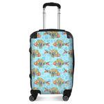 Mosaic Fish Suitcase