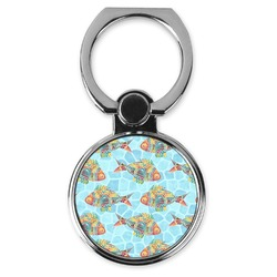 Mosaic Fish Cell Phone Ring Stand & Holder