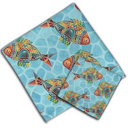 Mosaic Fish Cloth Napkin