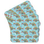 Mosaic Fish Cork Coaster - Set of 4