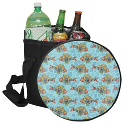 Mosaic Fish Collapsible Cooler & Seat (Personalized)