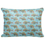 "Mosaic Fish Decorative Baby Pillowcase - 16""x12"""
