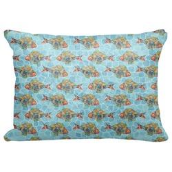 """Mosaic Fish Decorative Baby Pillowcase - 16""""x12"""" (Personalized)"""