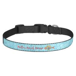 Mosaic Fish Dog Collar - Medium (Personalized)