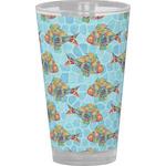 Mosaic Fish Drinking / Pint Glass