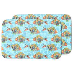 Mosaic Fish Dish Drying Mat
