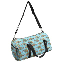 Mosaic Fish Duffel Bag