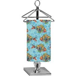 Mosaic Fish Finger Tip Towel - Full Print