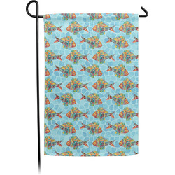 Mosaic Fish Garden Flag - Single or Double Sided (Personalized)