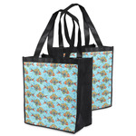Mosaic Fish Grocery Bag