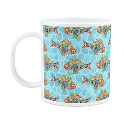 Mosaic Fish Plastic Kids Mug