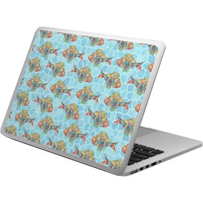 Mosaic Fish Laptop Skin - Custom Sized