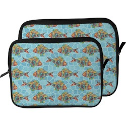 Mosaic Fish Laptop Sleeve / Case (Personalized)