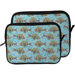 Mosaic Fish Laptop Sleeve / Case (Personalized)