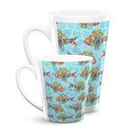 Mosaic Fish Latte Mug