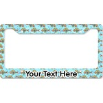 Mosaic Fish License Plate Frame (Personalized)