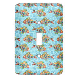 Mosaic Fish Light Switch Covers (Personalized)