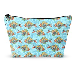 Mosaic Fish Makeup Bags