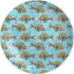 Mosaic Fish Melamine Plate (Personalized)