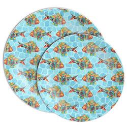 Mosaic Fish Melamine Plate