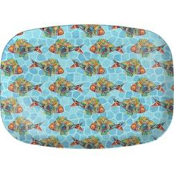 Mosaic Fish Melamine Platter (Personalized)