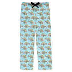 Mosaic Fish Mens Pajama Pants (Personalized)