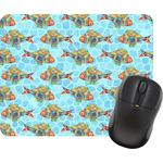 Mosaic Fish Mouse Pads