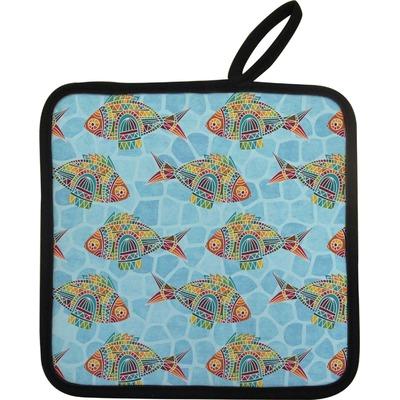 Mosaic Fish Pot Holder