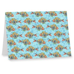 Mosaic Fish Note cards