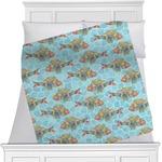 Mosaic Fish Minky Blanket
