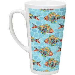 Mosaic Fish Latte Mug (Personalized)