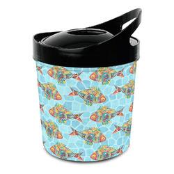 Mosaic Fish Plastic Ice Bucket (Personalized)