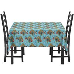 Mosaic Fish Tablecloth