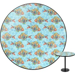 Mosaic Fish Round Table