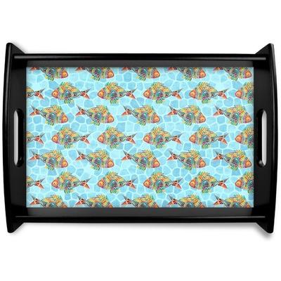 Mosaic Fish Wooden Trays