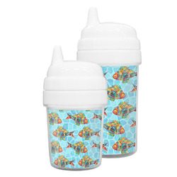 Mosaic Fish Sippy Cup