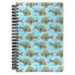 Mosaic Fish Spiral Bound Notebook
