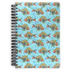 Mosaic Fish Spiral Bound Notebook