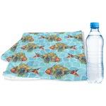 Mosaic Fish Sports & Fitness Towel