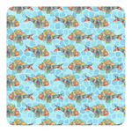Mosaic Fish Square Decal