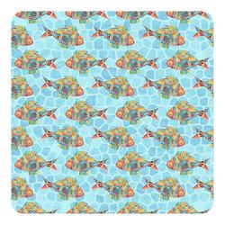 Mosaic Fish Square Decal