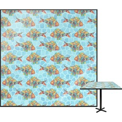 Mosaic Fish Square Table Top (Personalized)