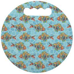 Mosaic Fish Stadium Cushion (Round) (Personalized)