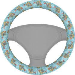 Mosaic Fish Steering Wheel Cover