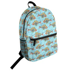 Mosaic Fish Student Backpack